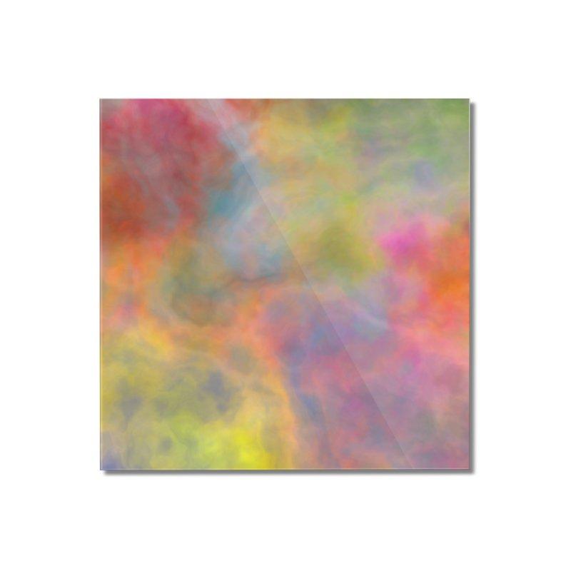 Rainbow Sky Home Mounted Acrylic Print by Christy Leigh Creative