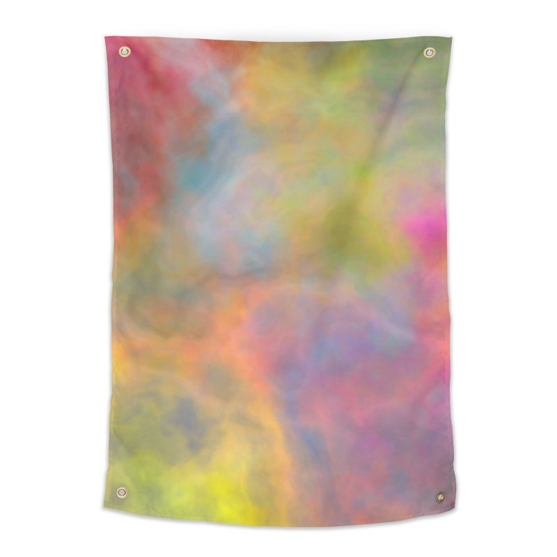 Rainbow Sky Home Tapestry by Christy Leigh Creative