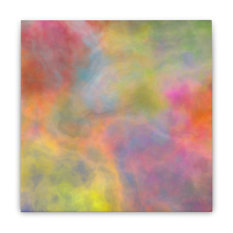 Rainbow Sky Home Stretched Canvas by Christy Leigh Creative