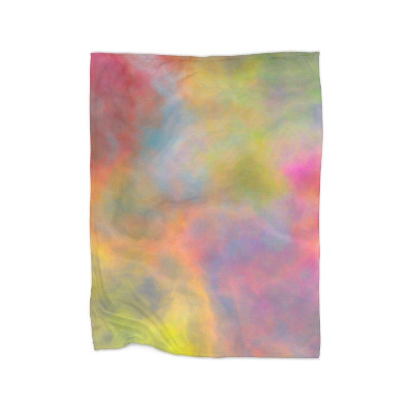Rainbow Sky Home Blanket by Christy Leigh Creative