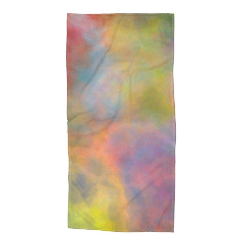 Rainbow Sky Accessories Beach Towel by Christy Leigh Creative