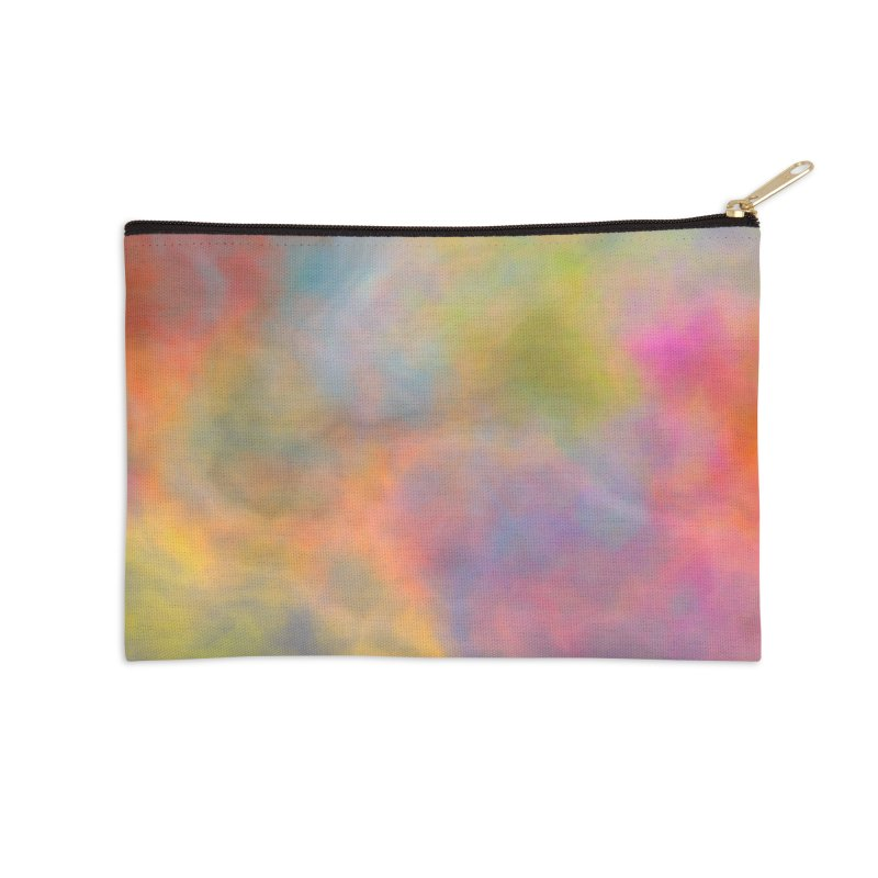 Rainbow Sky Accessories Zip Pouch by Christy Leigh Creative