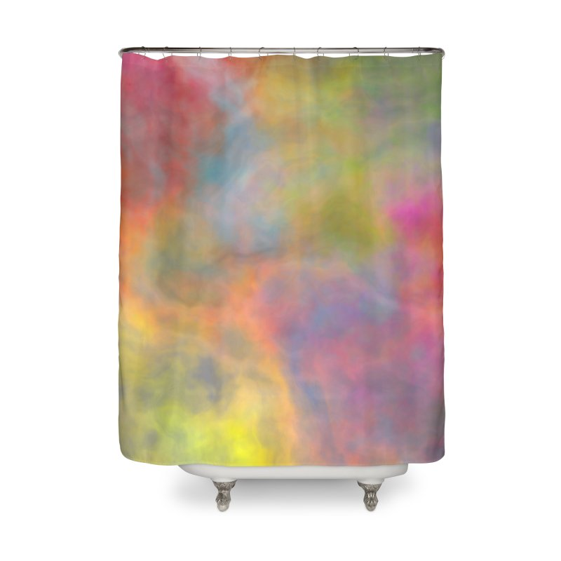 Rainbow Sky Home Shower Curtain by Christy Leigh Creative