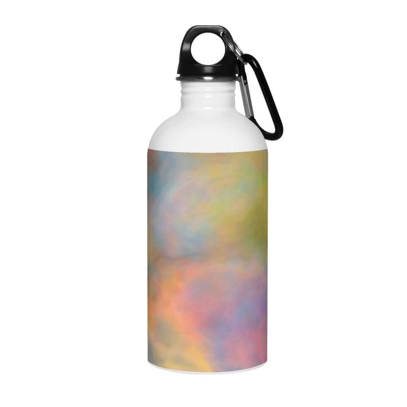 Rainbow Sky Accessories Water Bottle by Christy Leigh Creative
