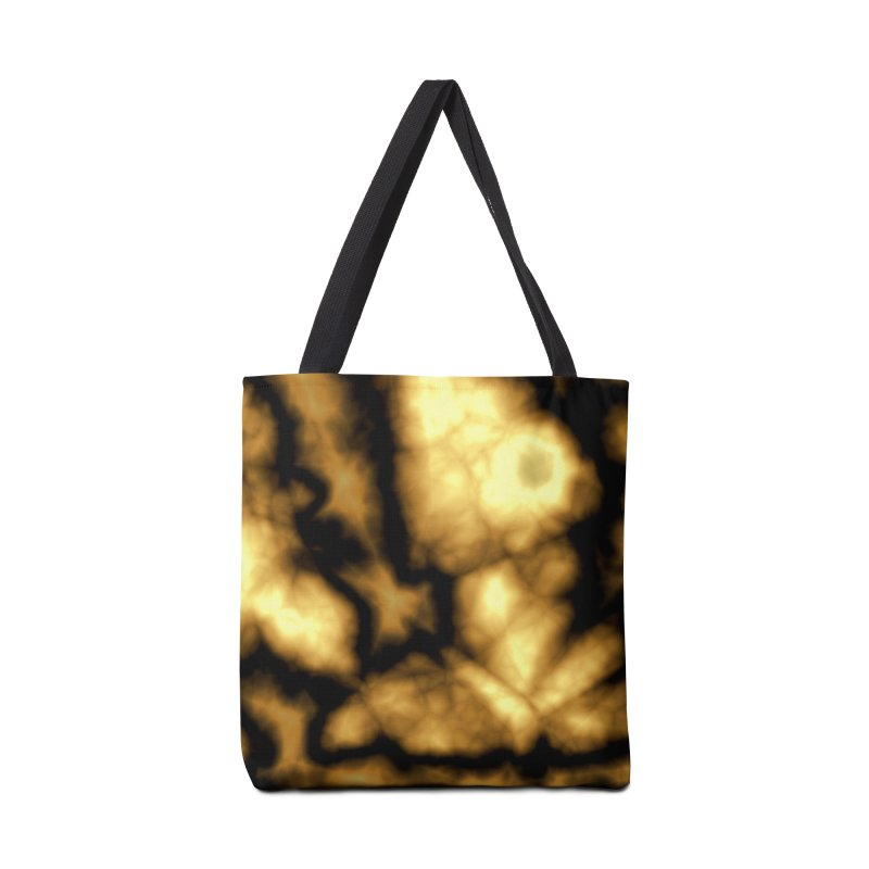 Gold and Black Accessories Bag by Christy Leigh Creative