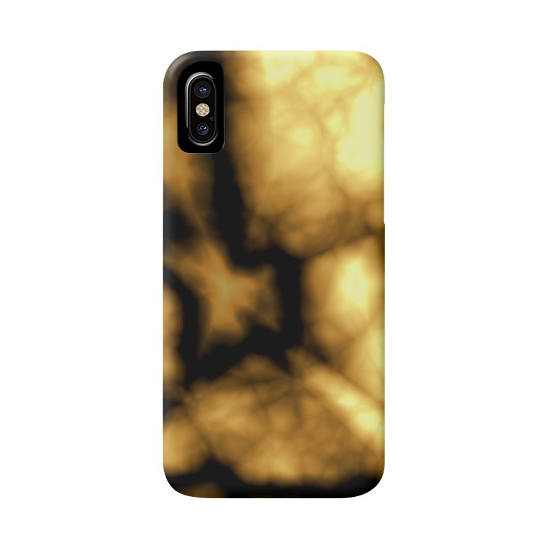 Gold and Black Accessories Phone Case by Christy Leigh Creative