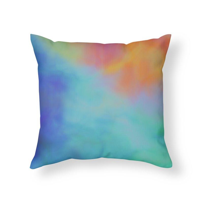 Sunshine Home Throw Pillow by Christy Leigh Creative