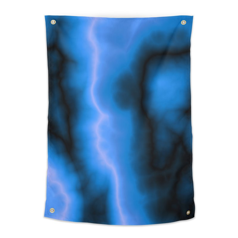 Lightning in the Sky Home Tapestry by Christy Leigh Creative