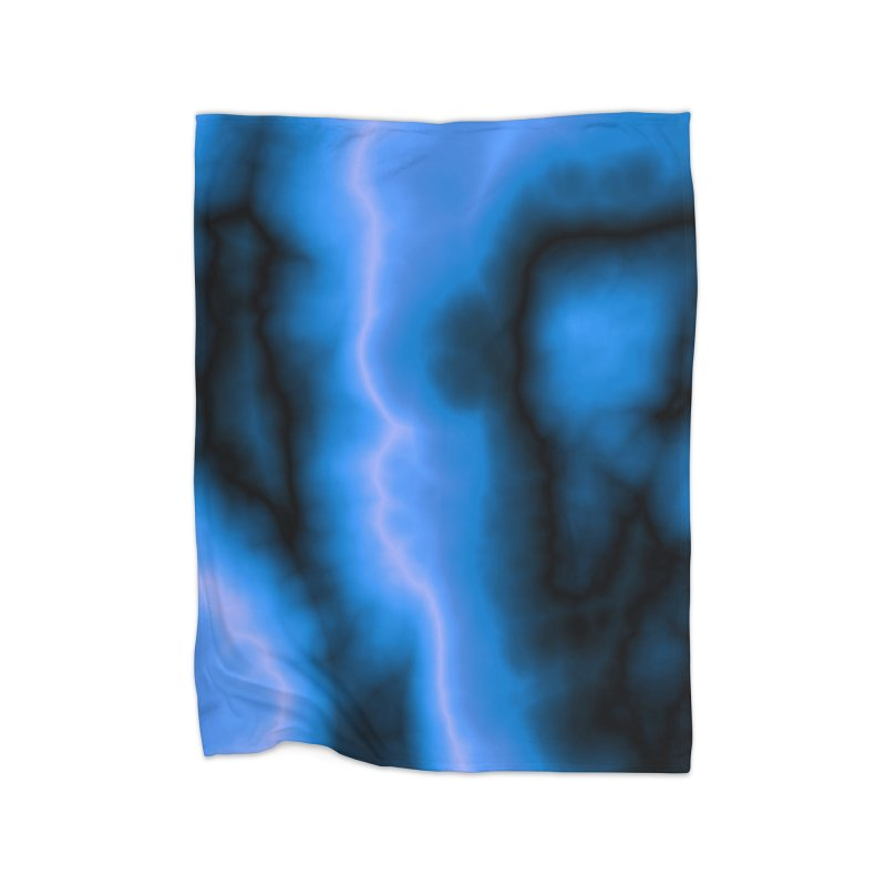 Lightning in the Sky Home Blanket by Christy Leigh Creative