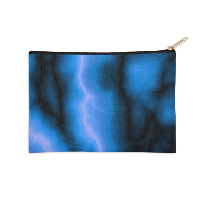 Lightning in the Sky Accessories Zip Pouch by Christy Leigh Creative