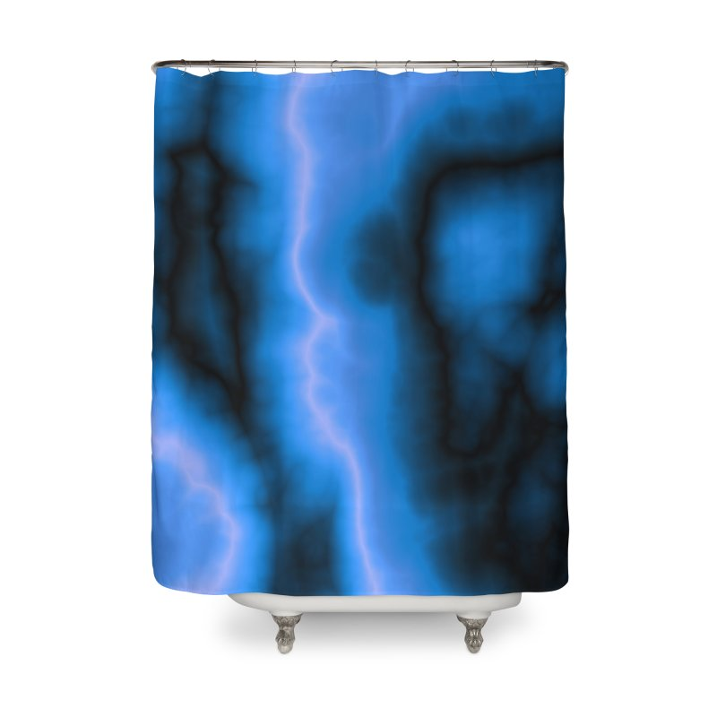 Lightning in the Sky Home Shower Curtain by Christy Leigh Creative