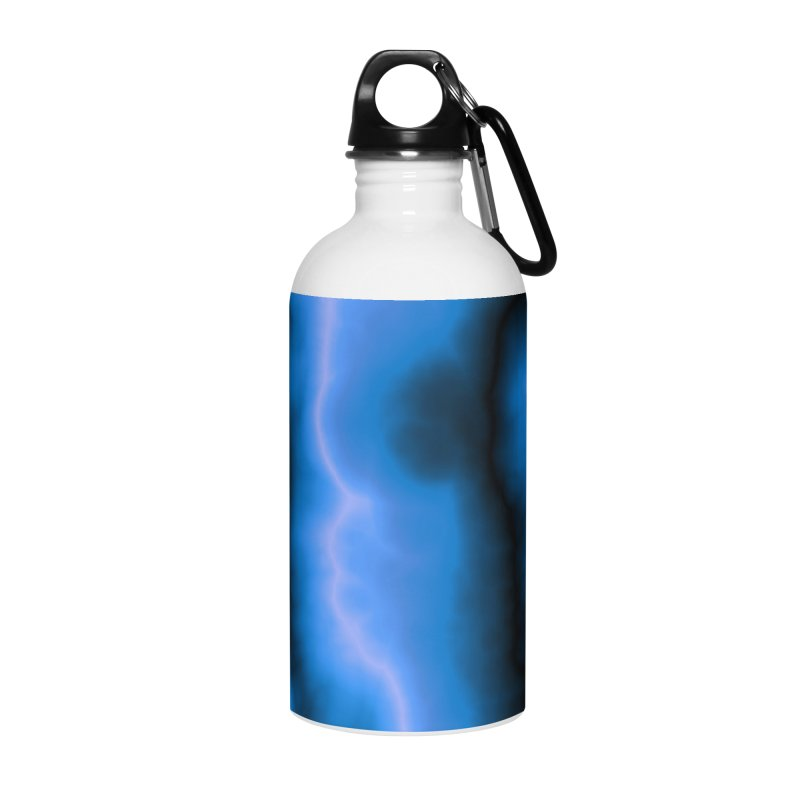 Lightning in the Sky Accessories Water Bottle by Christy Leigh Creative