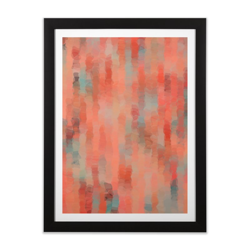 Coral Mirage Home Framed Fine Art Print by Christy Leigh Creative