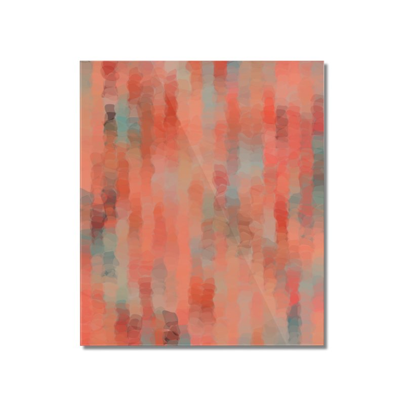 Coral Mirage Home Mounted Acrylic Print by Christy Leigh Creative