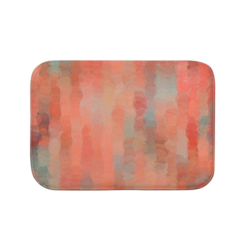 Coral Mirage Home Bath Mat by Christy Leigh Creative