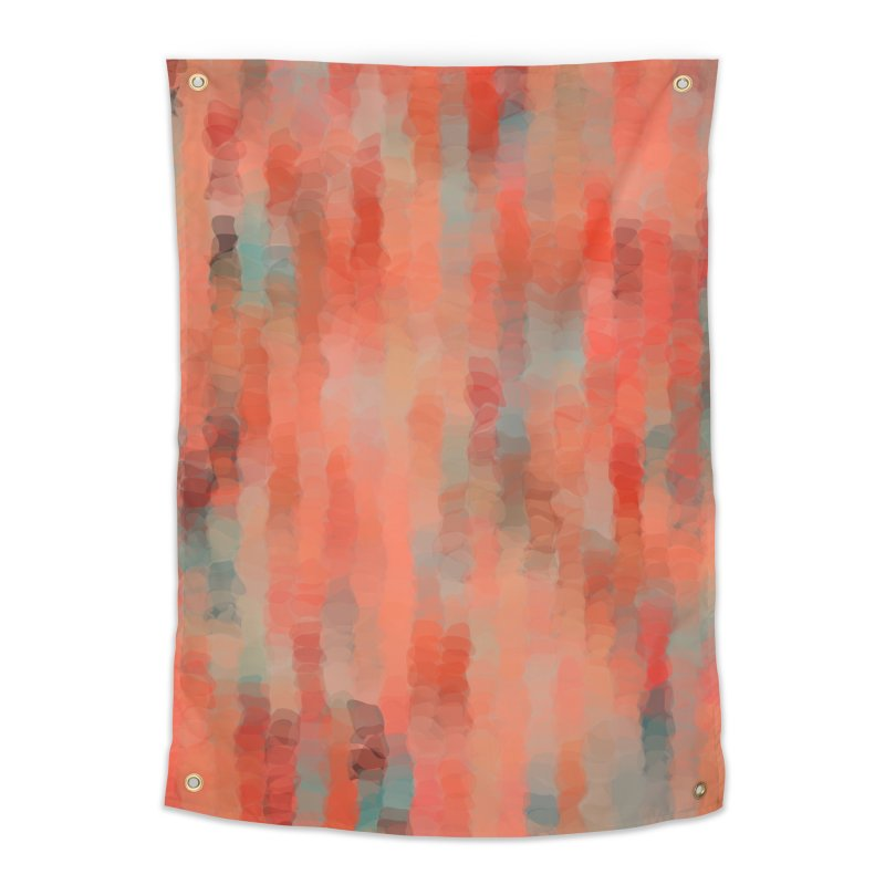 Coral Mirage Home Tapestry by Christy Leigh Creative