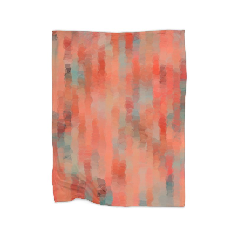 Coral Mirage Home Blanket by Christy Leigh Creative
