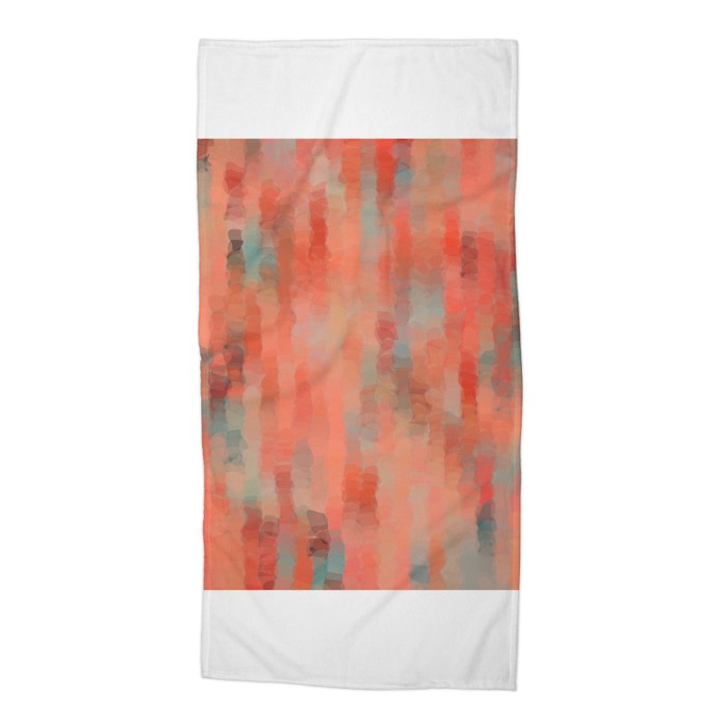 Coral Mirage Accessories Beach Towel by Christy Leigh Creative