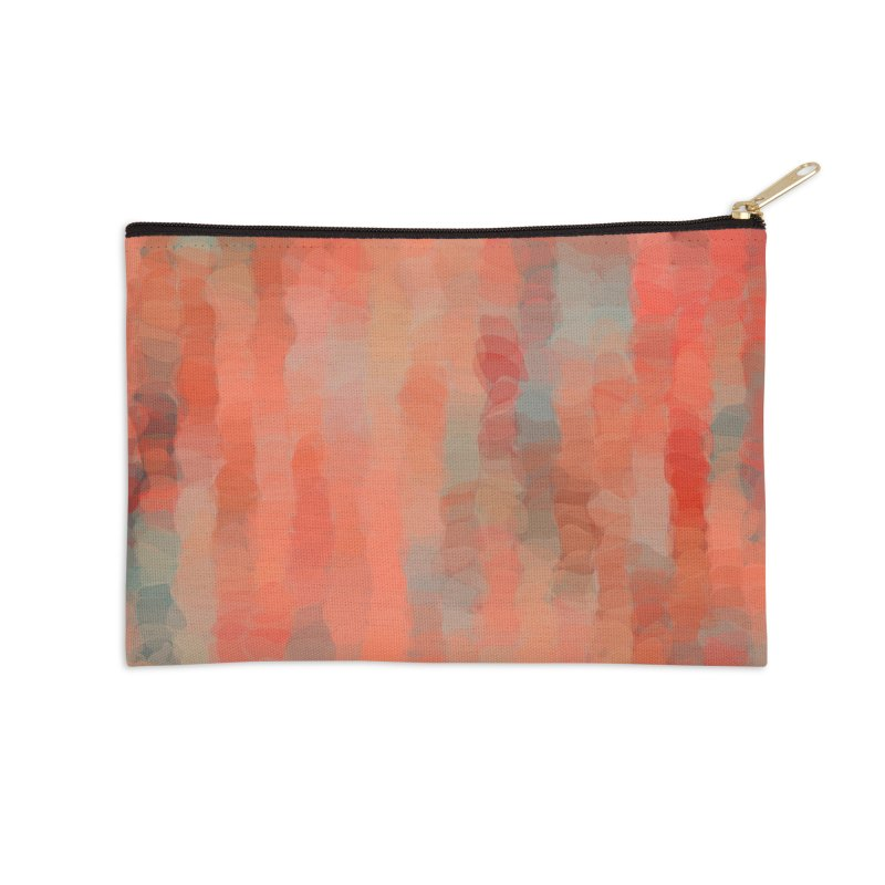 Coral Mirage Accessories Zip Pouch by Christy Leigh Creative