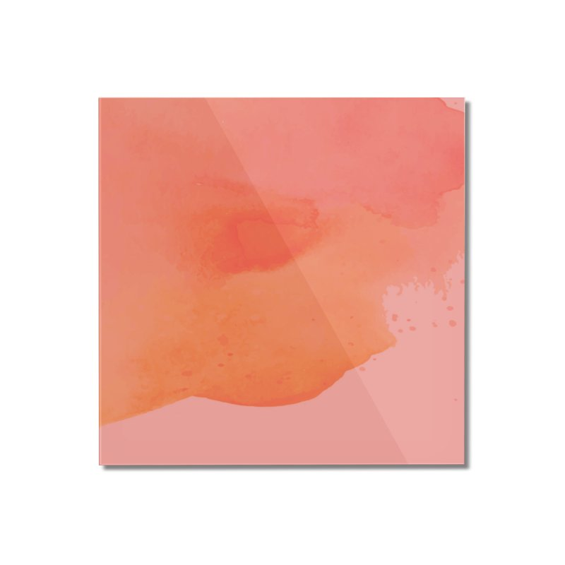 Coral Kiss Home Mounted Acrylic Print by Christy Leigh Creative