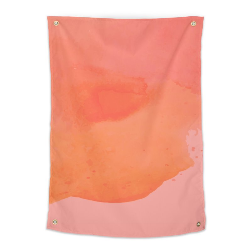 Coral Kiss Home Tapestry by Christy Leigh Creative