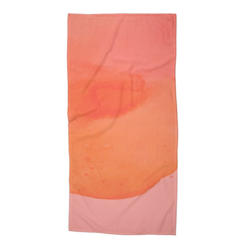 Coral Kiss Accessories Beach Towel by Christy Leigh Creative