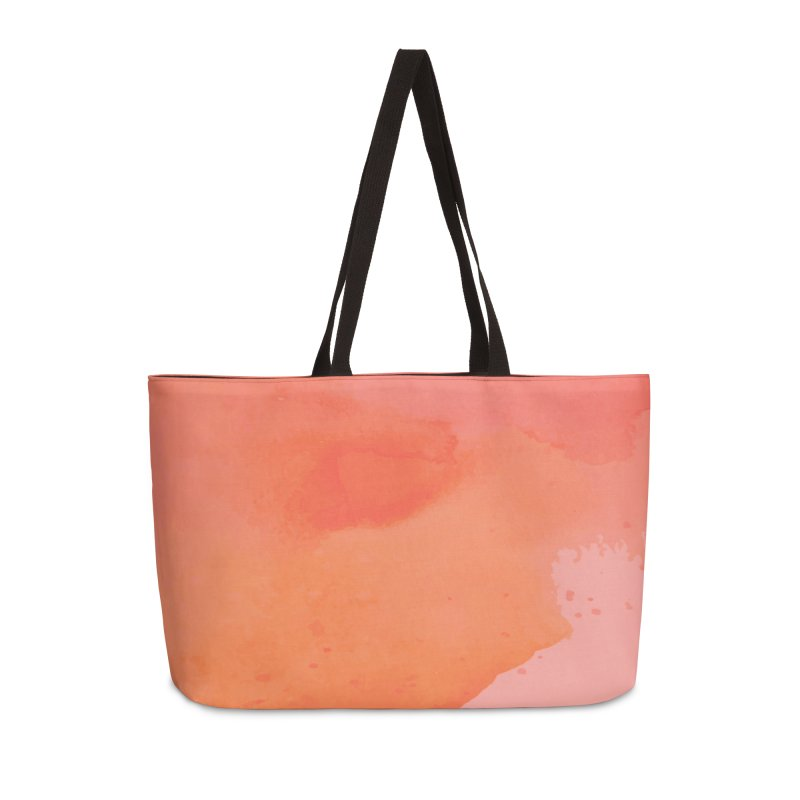 Coral Kiss Accessories Weekender Bag Bag by Christy Leigh Creative
