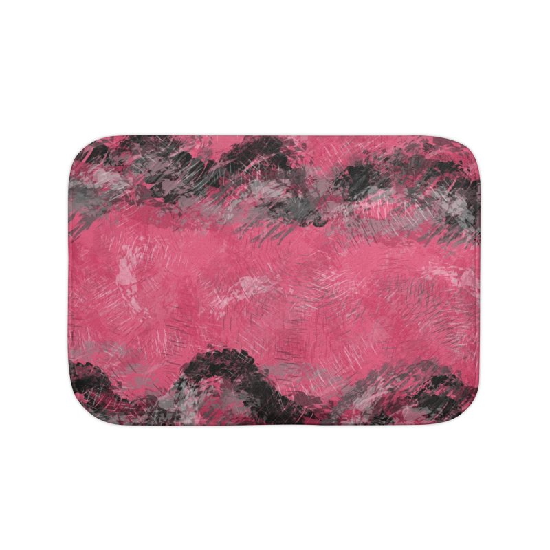 Waves of Distortion Home Bath Mat by Christy Leigh Creative