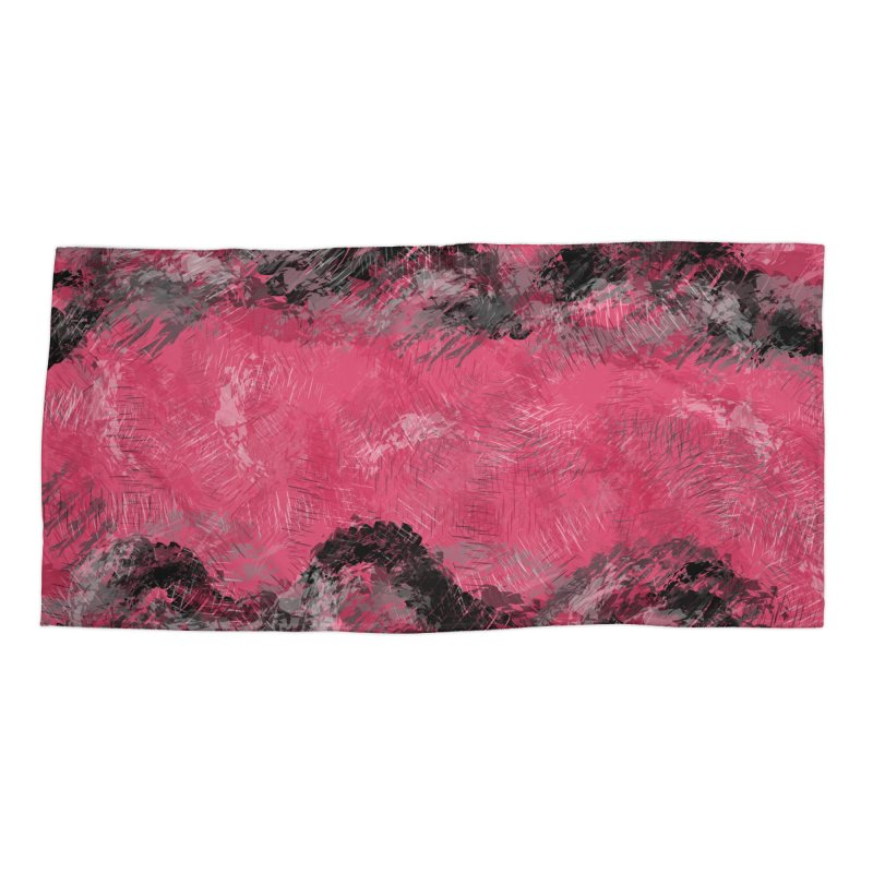 Waves of Distortion Accessories Beach Towel by Christy Leigh Creative