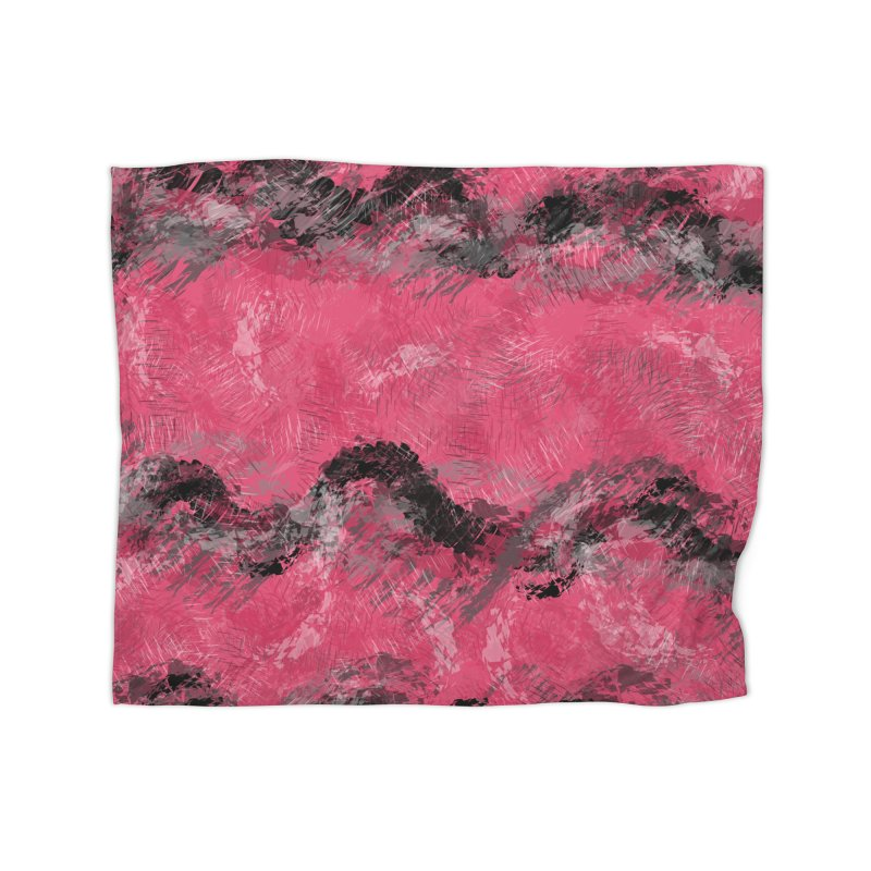 Waves of Distortion Home Blanket by Christy Leigh Creative