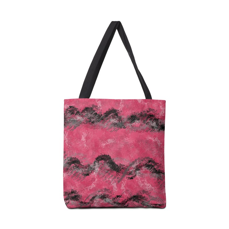 Waves of Distortion Accessories Bag by Christy Leigh Creative