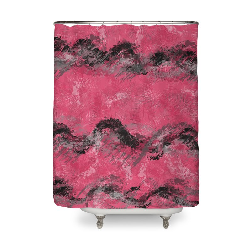 Waves of Distortion Home Shower Curtain by Christy Leigh Creative