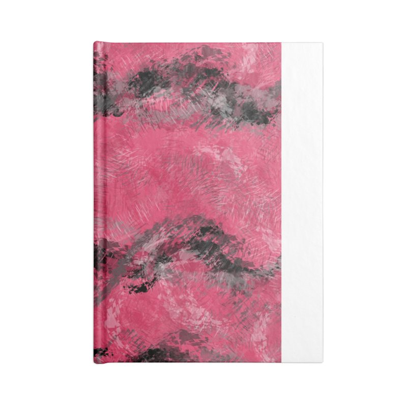 Waves of Distortion Accessories Notebook by Christy Leigh Creative