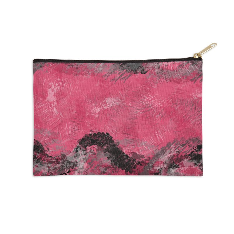 Waves of Distortion Accessories Zip Pouch by Christy Leigh Creative