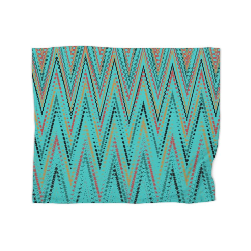 Native Wave Home Blanket by Christy Leigh Creative