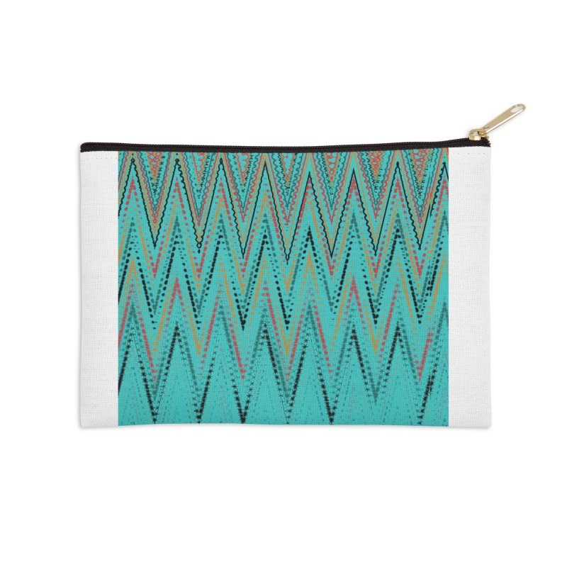Native Wave Accessories Zip Pouch by Christy Leigh Creative
