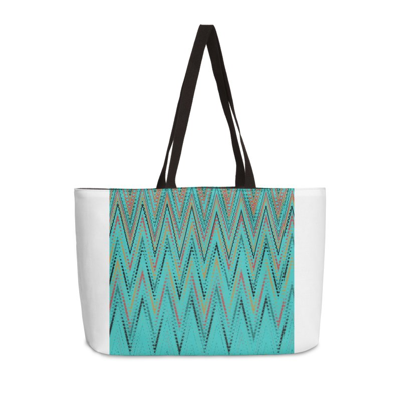 Native Wave Accessories Weekender Bag Bag by Christy Leigh Creative