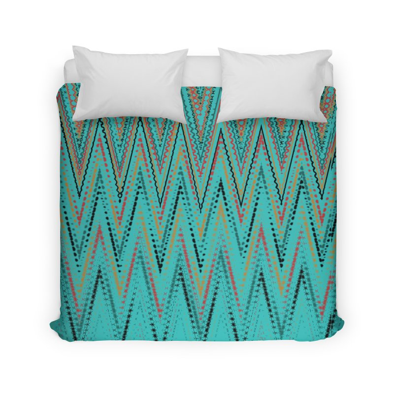 Native Wave Home Duvet by Christy Leigh Creative