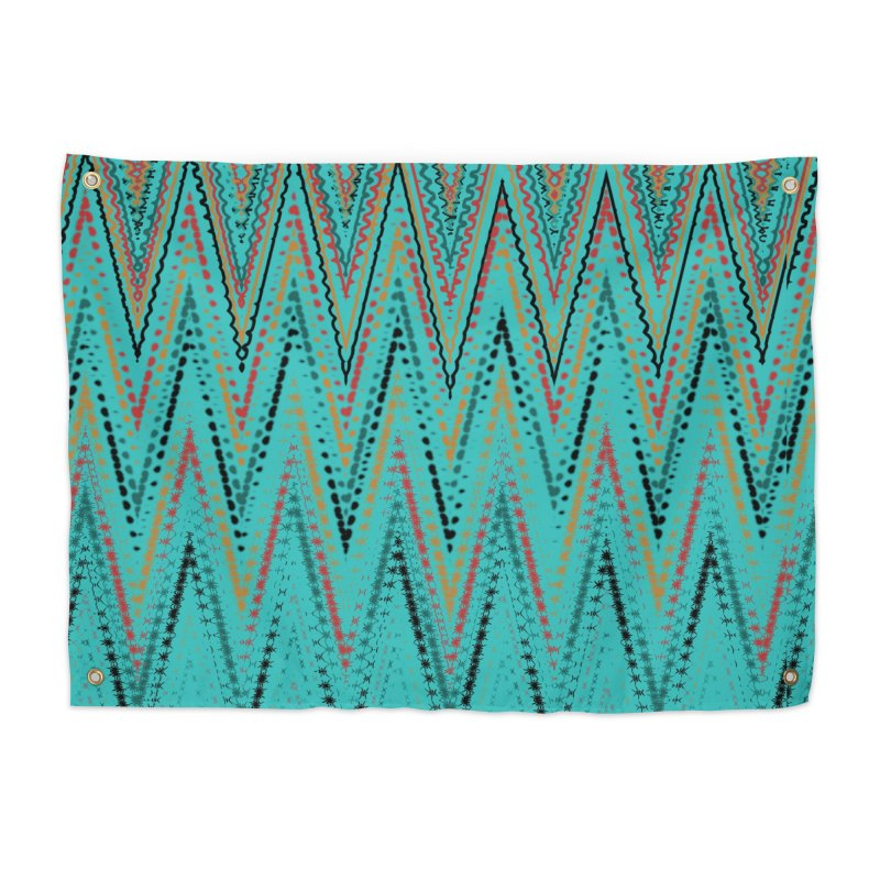 Native Wave Home Tapestry by Christy Leigh Creative