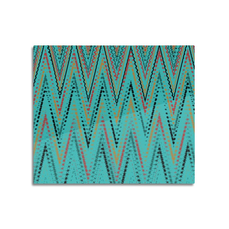 Native Wave Home Mounted Acrylic Print by Christy Leigh Creative