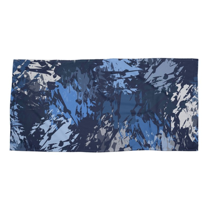 Blues Accessories Beach Towel by Christy Leigh Creative