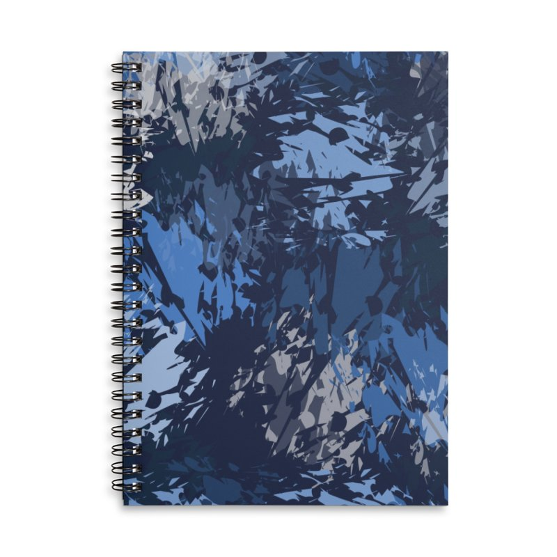 Blues Accessories Notebook by Christy Leigh Creative