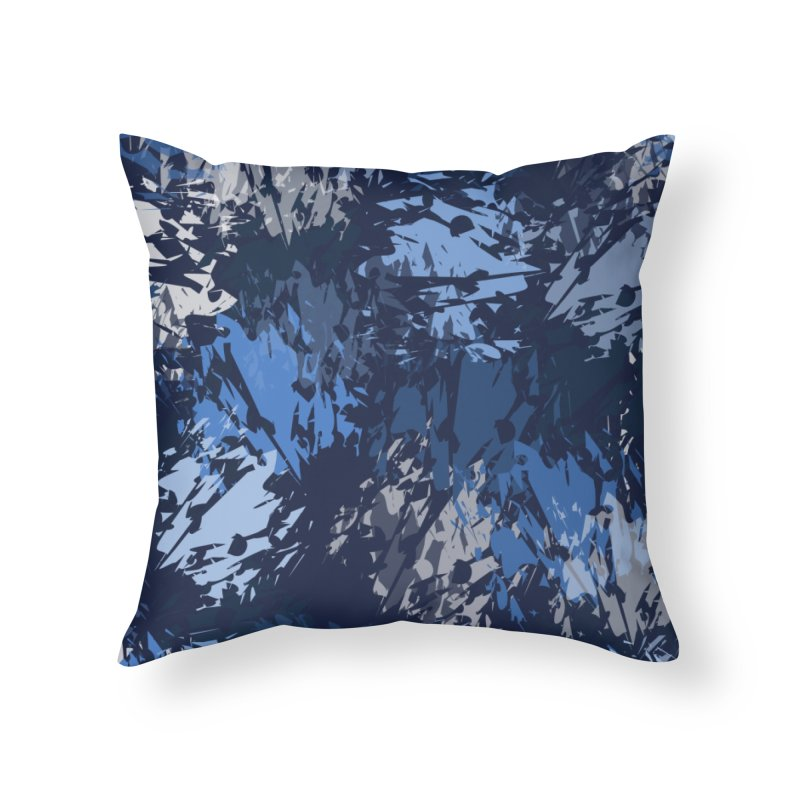Blues Home Throw Pillow by Christy Leigh Creative