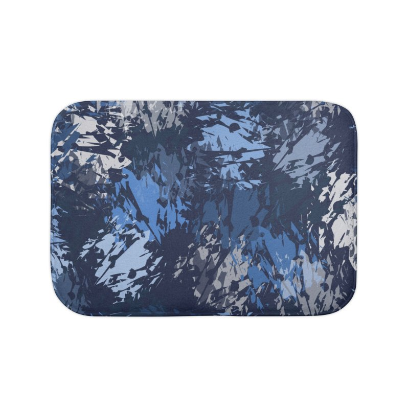 Blues Home Bath Mat by Christy Leigh Creative