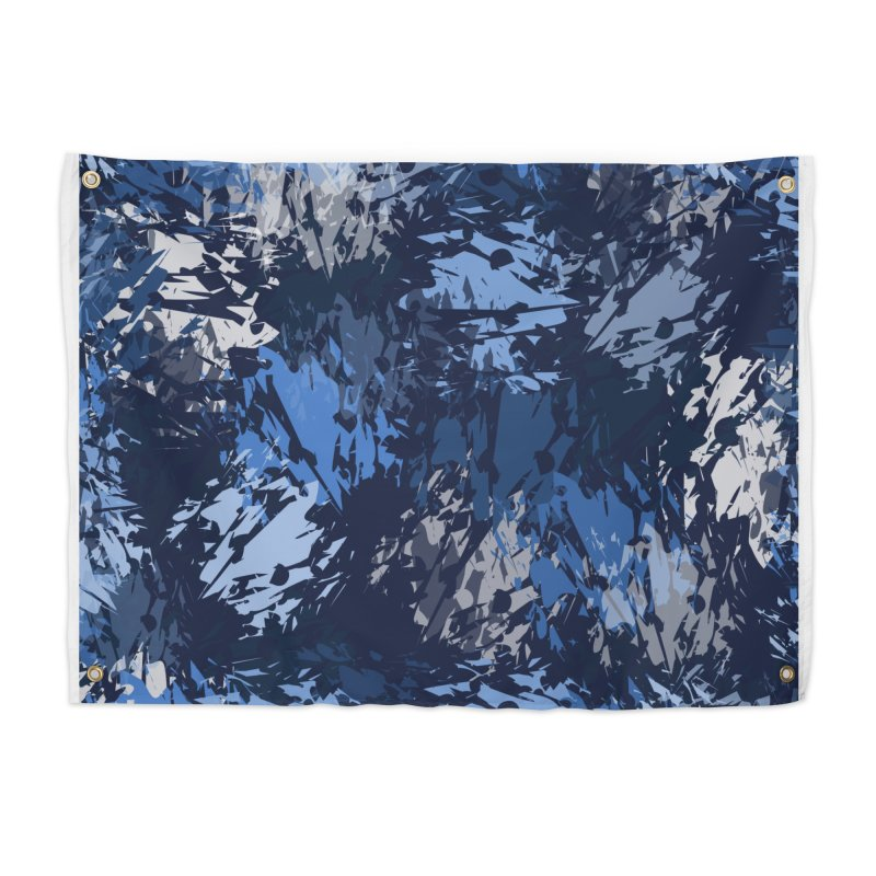 Blues Home Tapestry by Christy Leigh Creative