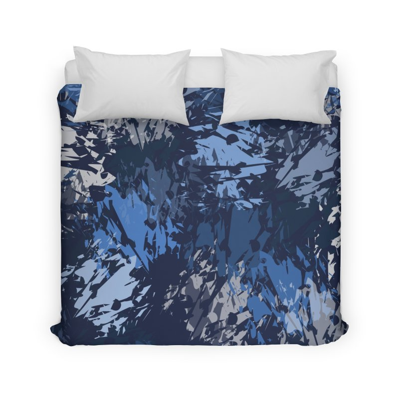 Blues Home Duvet by Christy Leigh Creative