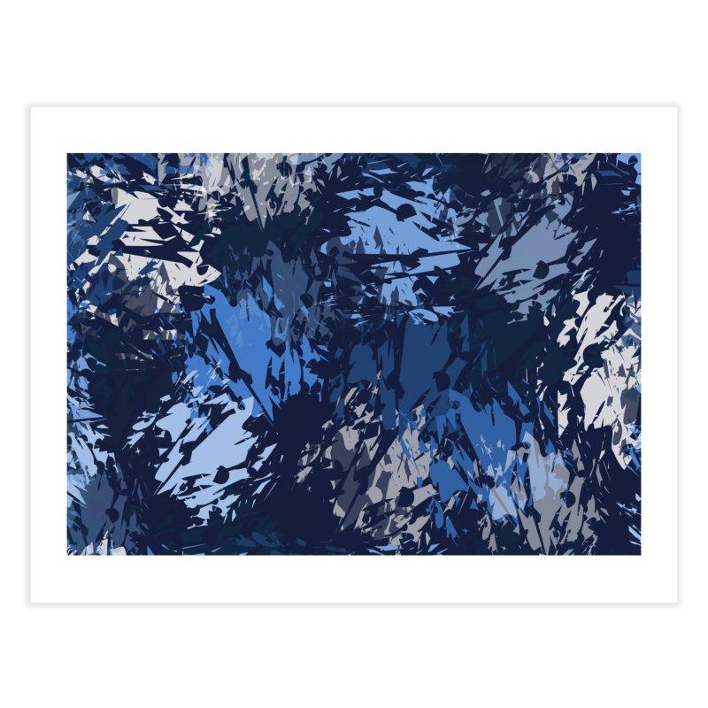 Blues Home Fine Art Print by Christy Leigh Creative