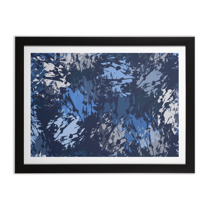 Blues Home Framed Fine Art Print by Christy Leigh Creative