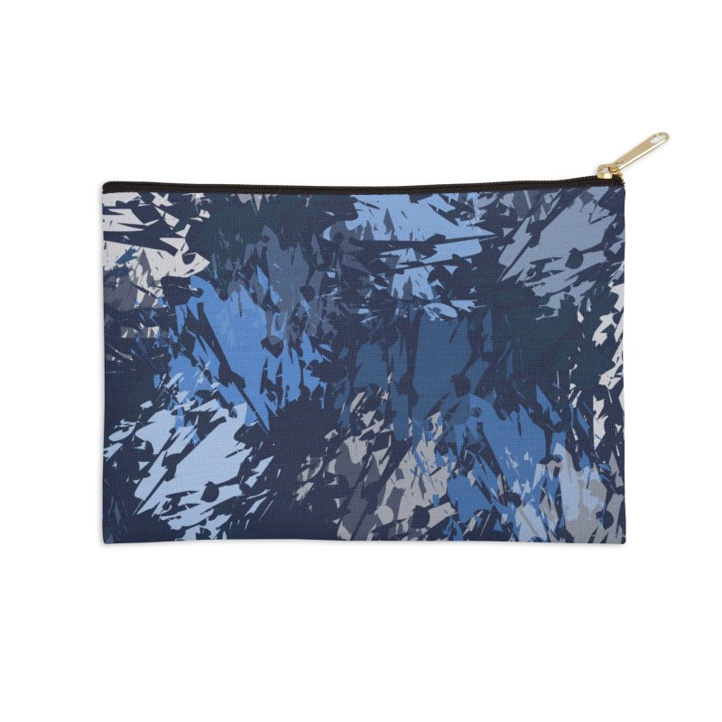 Blues Accessories Zip Pouch by Christy Leigh Creative