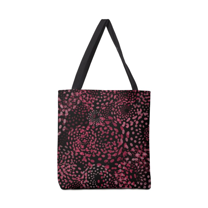 Crimson Fireworks Accessories Bag by Christy Leigh Creative